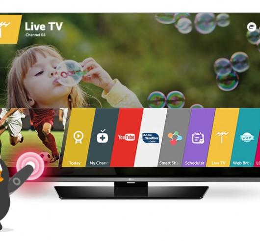 TV LG UHD UF690T-43''